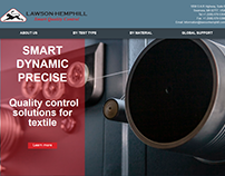 Lawson Hemphill Inc. website redesign
