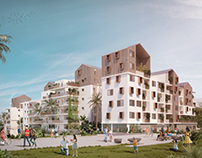 Social Housing by Prism Architects