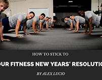 How to Stick to Your Fitness New Years' Resolution