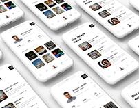 Mobile Blog Design