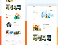 Travel Web Page
