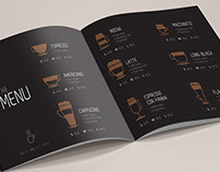 Coffee shop Brochure