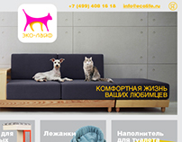Web site of furniture for animals