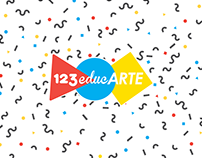 123educARTE Logo and social media
