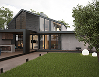 Cottage architectural project for a young businessman