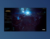 LoL Launcher Redesign #_thedesignproject Day 15 / 30
