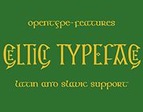 шрифт Кельтичи | Keltichi type
