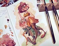 2020 Watercolors