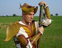 BRANDO: leather costume for LARP
