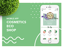 Cosmetic Eco Shop - mobile app