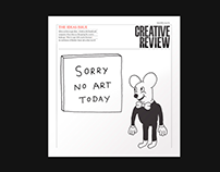 Creative Review — Online magazine redesign