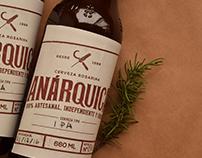 Branding Cerveza Anárquica / Craft Beer Branding