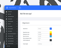 Framework UI Design - Appedemic