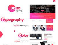 Urino - Agency Landing Page