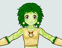 Vegetal Character Design