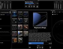 Dark Matter UI Mockups
