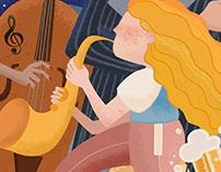 Poster For Savannah Jazz Festive