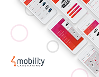 4Mobility - Car Sharing Mobile App iOS Android Desktop