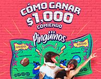 Pingüinos - Promo $1000