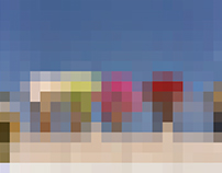Japan Pixel Painting 2007