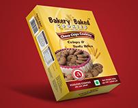 Bakery Baked Cookies Package Design