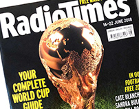 Radio Times World Cup Cover