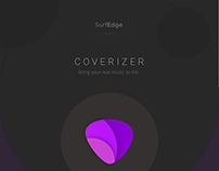 Coverizer Music App Logo Design