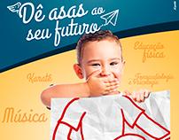 Campanha Matrículas: Dê asas ao seu futuro