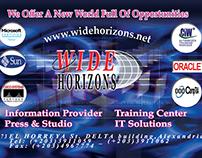 Wide Horizons Training Center - 2005