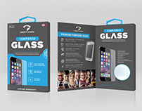 Liberty Guard Tempered Glass Packaging