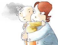 Children's illustration Adrienn Vadadi: Ákos