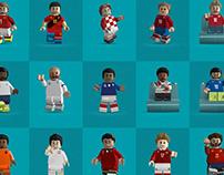 Lego: Euro 2020 Draw - Bleacher Report