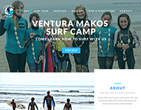 Makos Surf Camp | Web Design