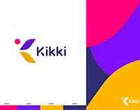 Kikki Natural Cosmetics Logo and Brandin