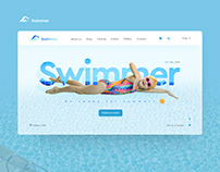 Swimmer UI design concept
