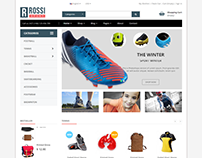 Rossi - Sport eCommerce Bootstrap 4 Template