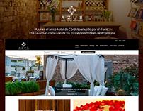 Azur Real Hotel   Desarrollo Web