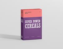 Cereals Box Mockup