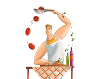 Illustrations for Young Catering