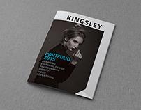 Kingsley - A4 Portfolio Catalog Brochure Vol 2