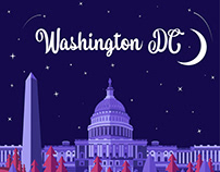 Washington DC Illustration