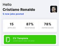 Job Apply App Concept