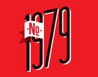 No. 1979 / Gráfica - Productos - Aguante