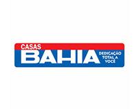 Website mobile das Casas Bahia.