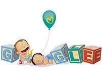 Doodle Pampers para o Google