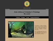 John Atkinson Grimshaw Paintings Website