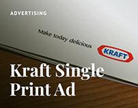 Kraft Single Print Ad