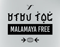 Malamaya Free — A baybayin Typeface