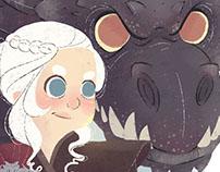 Daenerys e Drogon | GOT