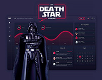 "Star Wars ""Death Star"" Dashboard Design"